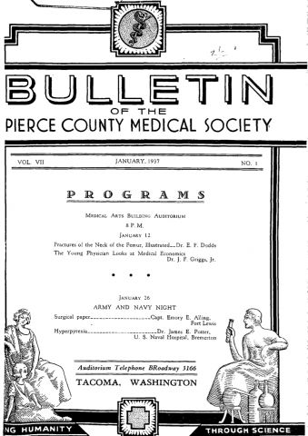 Cover image for PCMS Bulletin 1937