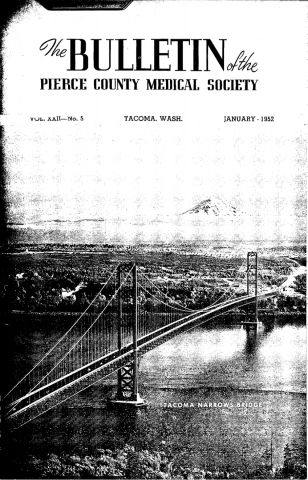 Cover image for PCMS Bulletin 1952