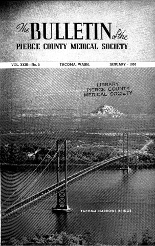 Cover image for PCMS Bulletin 1953