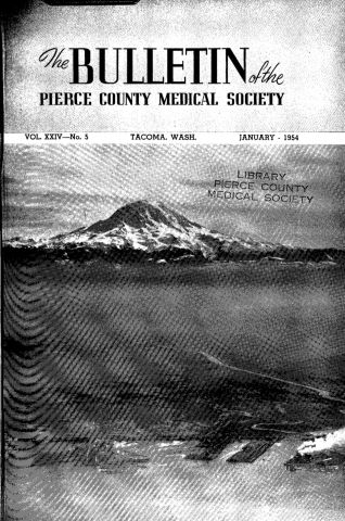 Cover image for PCMS Bulletin 1954