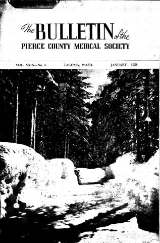 Cover image for PCMS Bulletin 1958