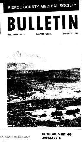 Cover image for PCMS Bulletin 1963