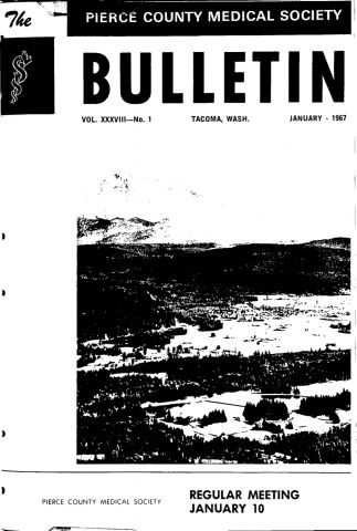 Cover image for PCMS Bulletin 1967