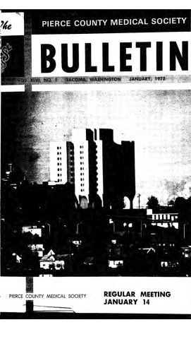 Cover image for PCMS Bulletin 1975