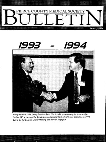 Cover image for PCMS Bulletin 1994