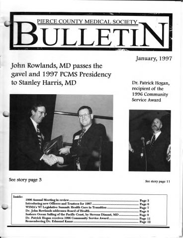Cover image for PCMS Bulletin 1997