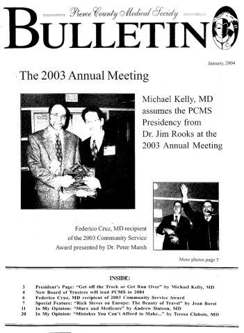 Cover image for PCMS Bulletin 2004
