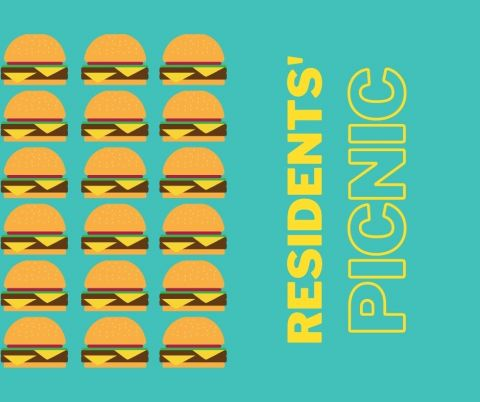 residents picnic graphic